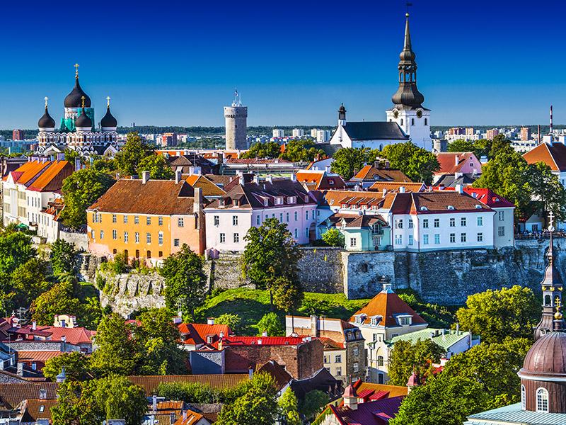 Capitales Bálticas y Rusia