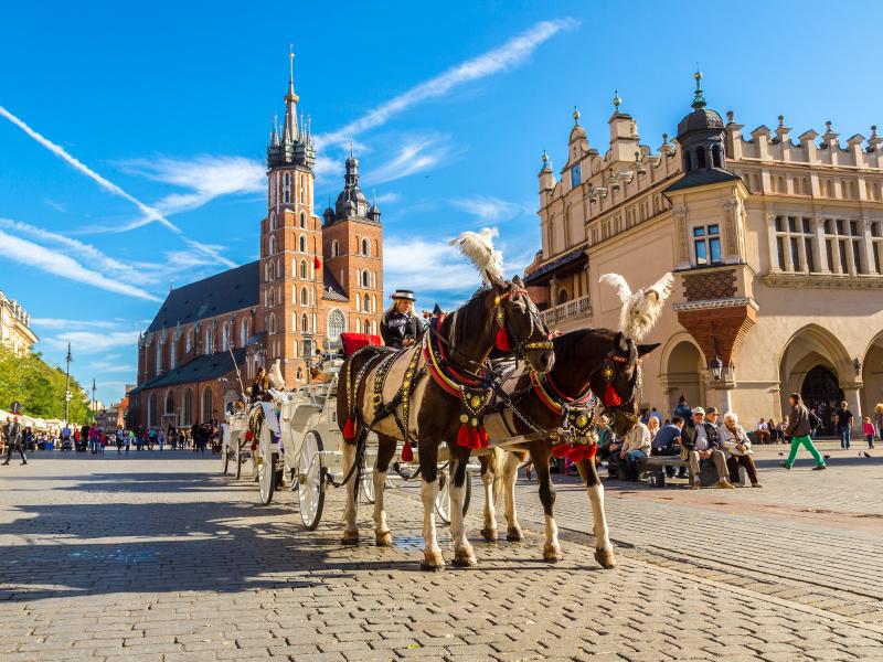 Varsovia y Cracovia