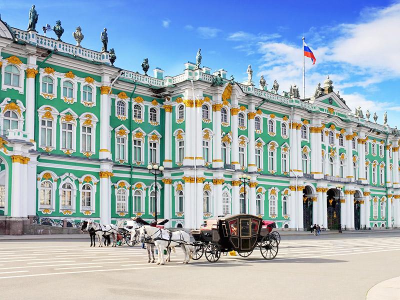 Súper Rusia a fondo - de San Petersburgo a Moscú